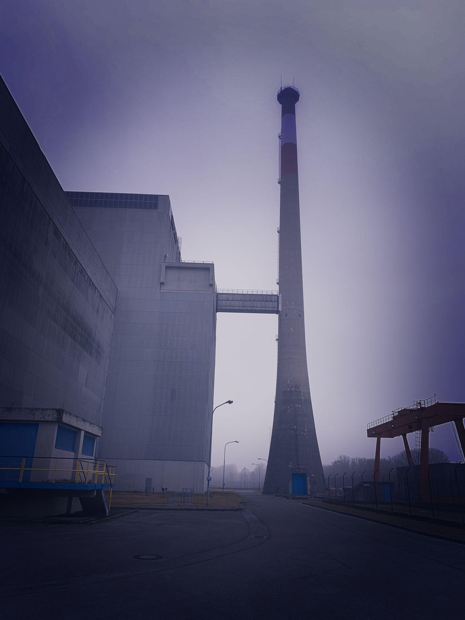 Verlassenes Atomkraftwerk