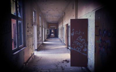 Verlassene Tuberkulose-Klinik