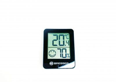 Thermometer:Hygrometer